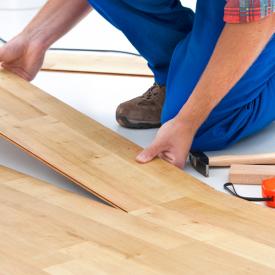 Laminált padló lerakása egyszerűen