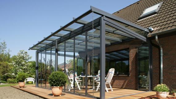 Solarlux hőszigetelés nélküli üvegteraszok